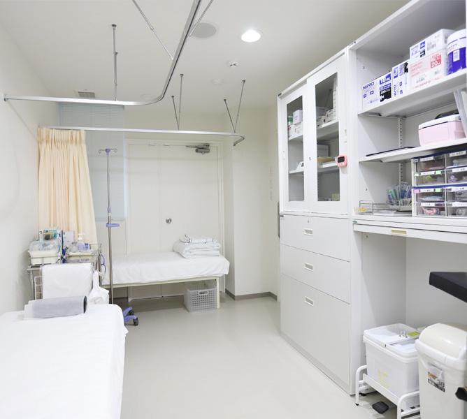 堀胃腸科医院ギャラリー|処置室